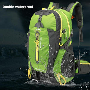 Foldable Waterproof Backpack With Rain Cover, Bags > Hiking > Camping > Waterproof Backpack - Dgitrends