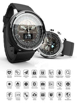 Men's Military Smartwatch For Android & Apple iOS, Bluetooth Smart Watch With Messaging & Fitness Tracker - Dgitrends