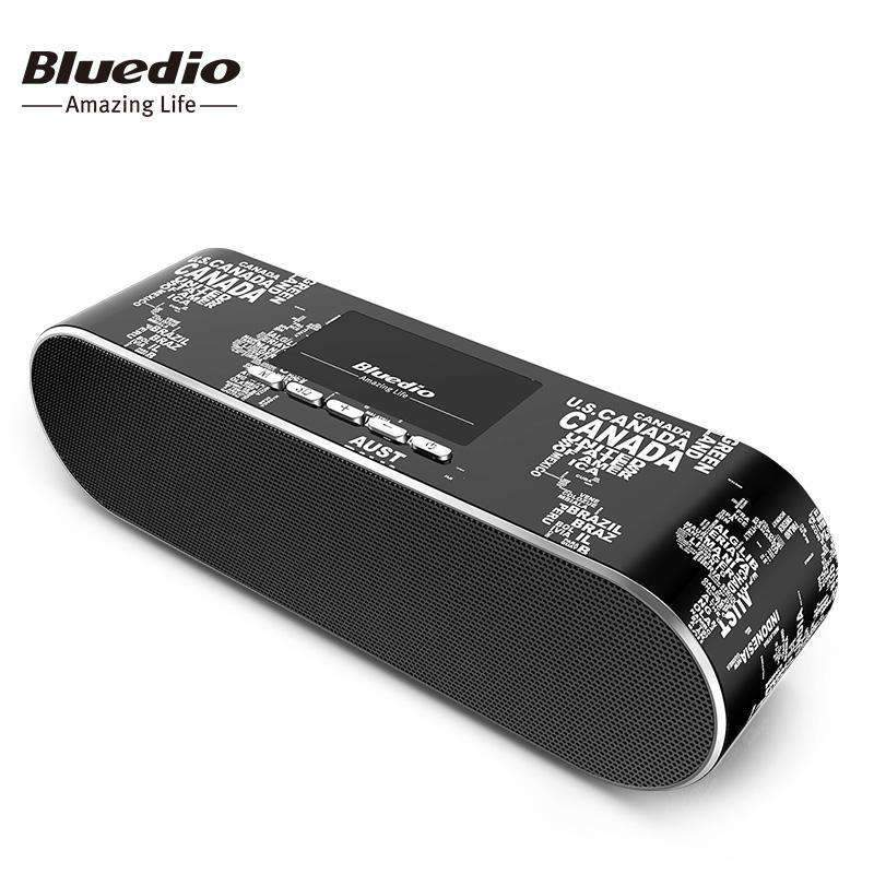 Bluedio AS Old School Mini Bluetooth Speaker With 3D Stereo Surround - Dgitrends