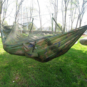 Backpacking Hammock With Mosquito Net, Camping Gear - Dgitrends