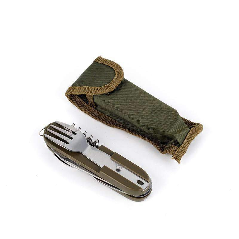 Stainless Steel Flatware & Carrying Case - Dgitrends