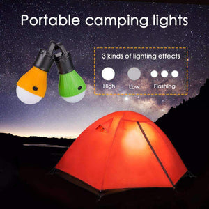 Portable Camp Lights, Portable Hanging LED Bulb With Beacon Mode - Dgitrends
