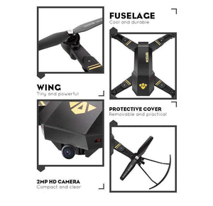 XS809W Quadcopter with HD WiFi Camera, Drone - Dgitrends
