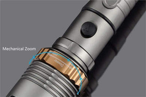 LED Flashlight With 5 Modes Plus Zoom, EDC - Dgitrends