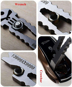 Blockbuster Themed EDC 6 In 1 Multi Tool, EDC > Multi Tool > Everyday Carry Multi Tool - Dgitrends