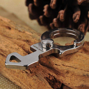Stainless Steel Carabiner Grappling Hook EDC Tool - Dgitrends