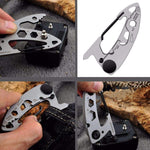 Stainless Steel Carabiner Multi Tool With Closed Wrench Fittings - Dgitrends