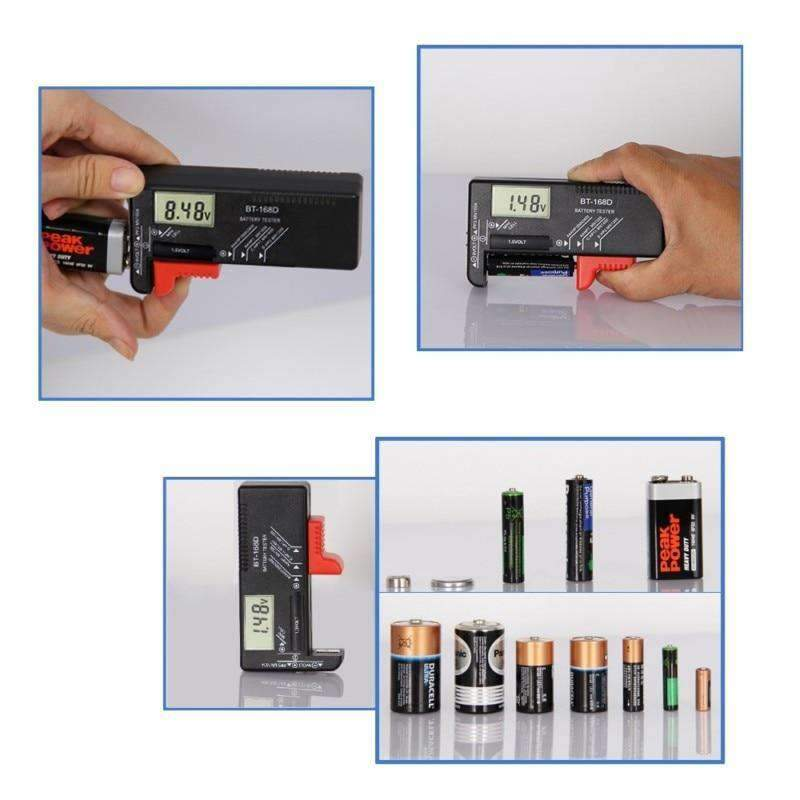 Digital Battery Checker, Electronics - Dgitrends