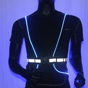 Flashing 360 Degree High Visibility Vest, Flashing High Visibility Reflective Vest - Dgitrends