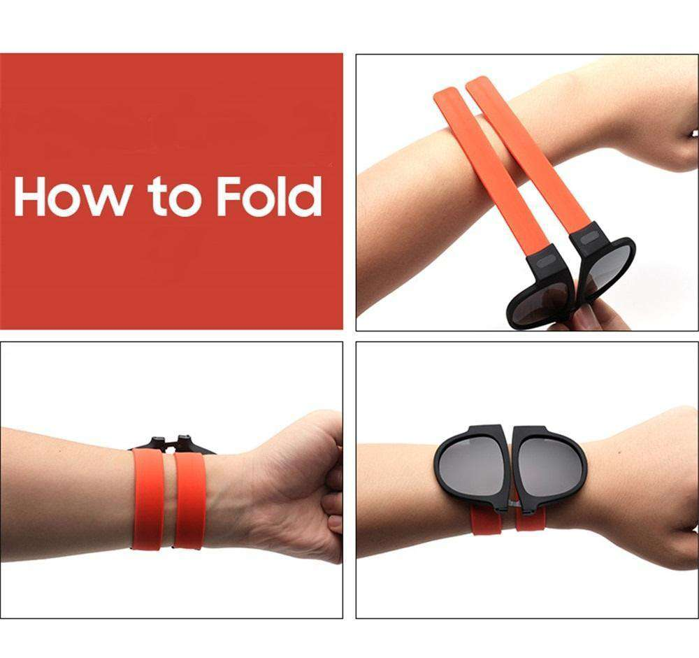 Slap On Folding Sunglasses, folding glasses > wrist wrap glasses > folding sunglasses > wrist glasses > wrapping sunglasses - Dgitrends