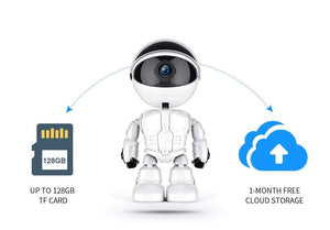 FREDI 1080P Cloud Home Security IP Camera Robot With Intelligent Auto Tracking WiFi CCTV Camera Surveillance Camera, Freddy Auto Tracking Cloud Security Camera - Dgitrends