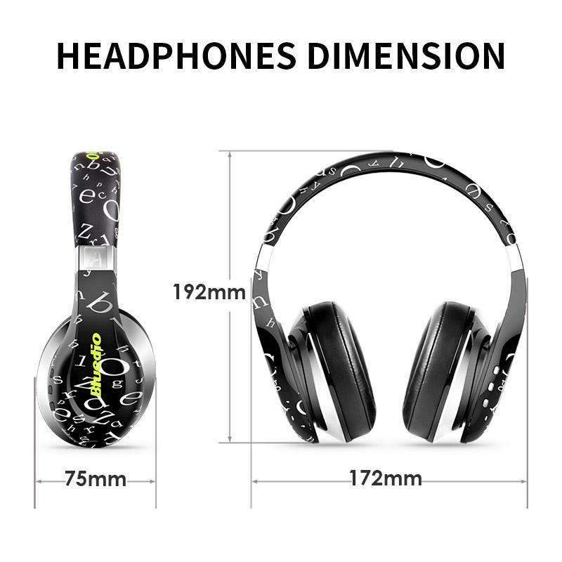 8fed332503e Bluedio A (Air) 3D Surround Twistable Headphones with Microphone, Headphones  - Dgitrends