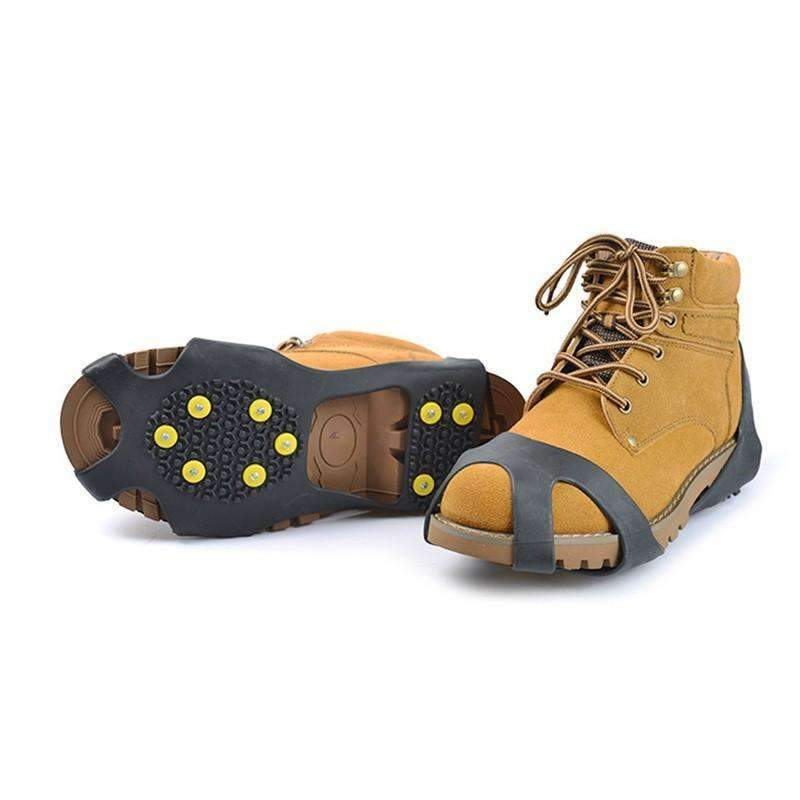 Universal  No Slip Snow Shoe Spikes, Hiking Gear - Dgitrends
