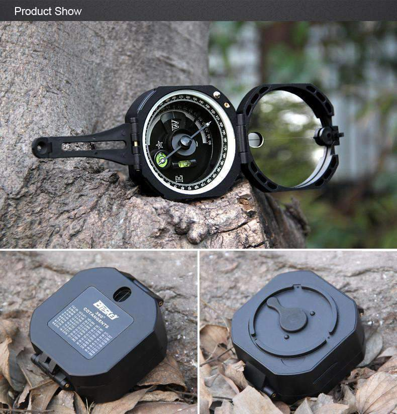 Military Geological Compass With Noctilucent Display, Military Geological Compass With Noctilucent Display - Dgitrends