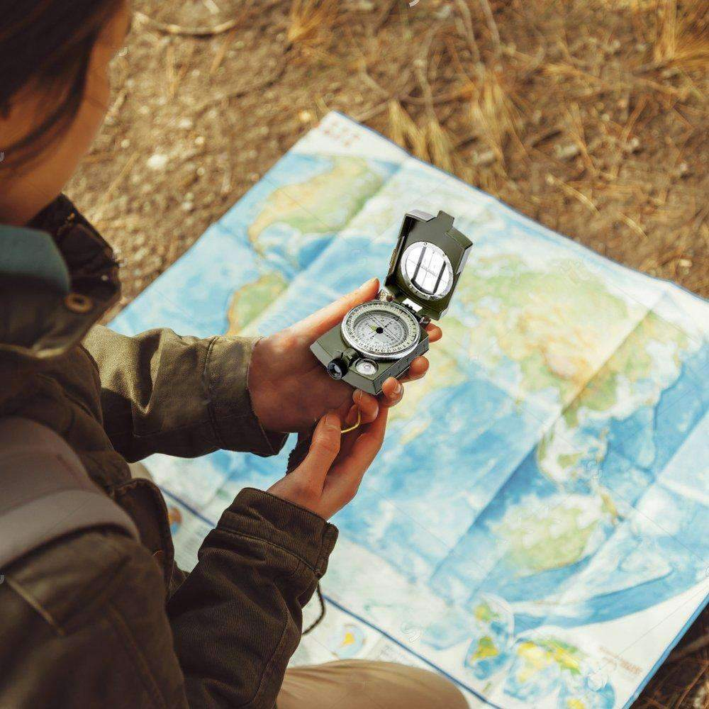 Sighting Compass With Inclinometer - Dgitrends