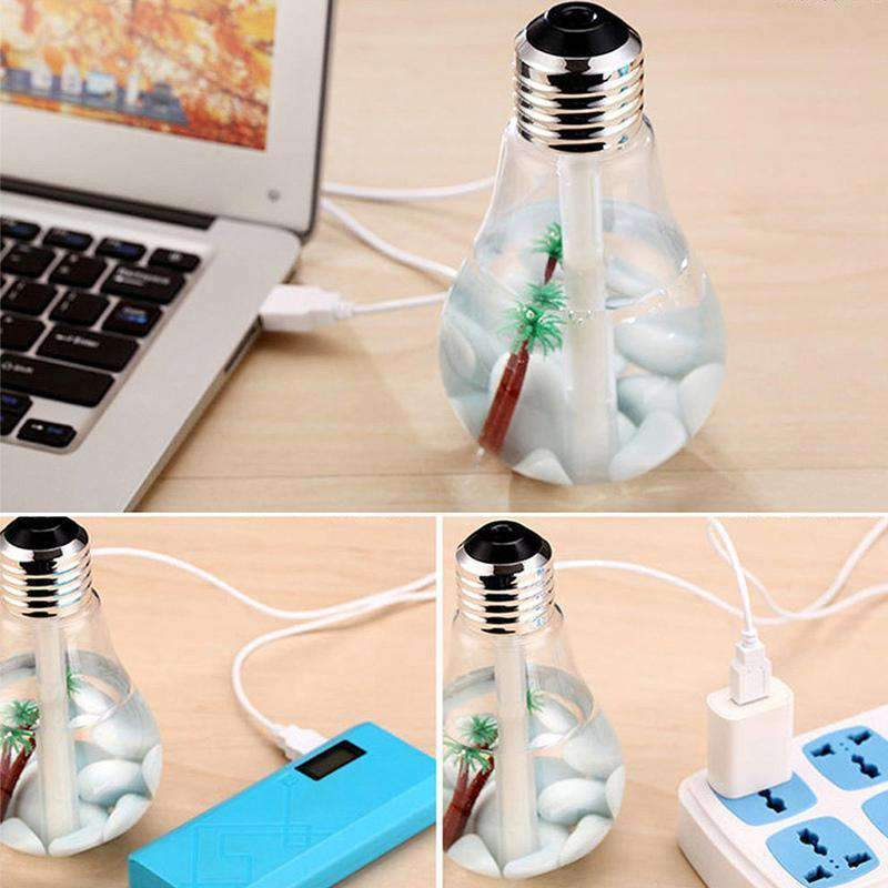 Mini Humidifier, Portable Air Humidifier Aroma Diffuser for Home Office & Car - Dgitrends