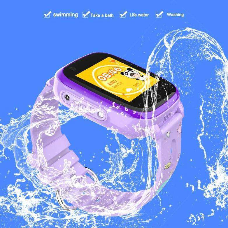 Kids 4G GPS Tracker Smart Watch & Companion App, Kids GPS Trackable Smart Watch - Dgitrends