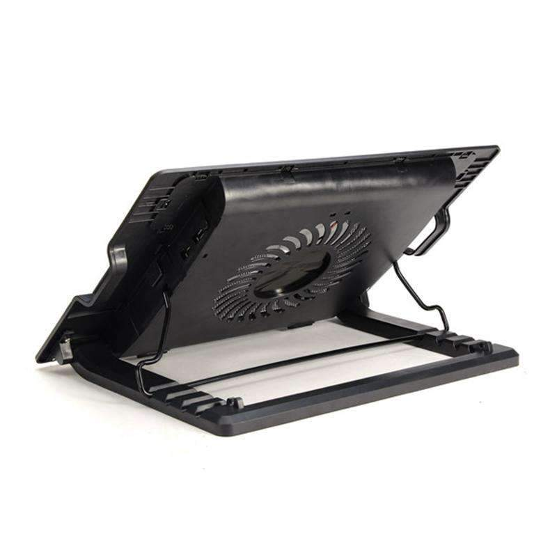 Dual USB Air Cooler Stand For 9 to 17 Inch Notebooks, Laptop Cooling Fan - Dgitrends