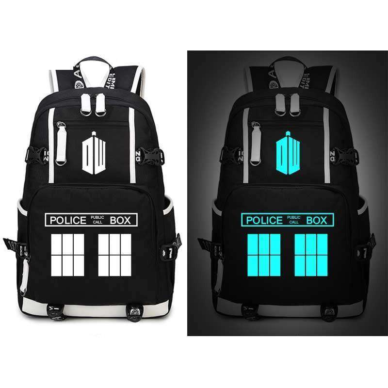 Police box Backpack, Police Box Light Up Backpack - Dgitrends