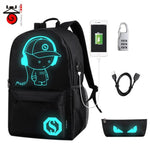 kids Water Resistant Light Up Backpack, Light up school backpack - Dgitrends