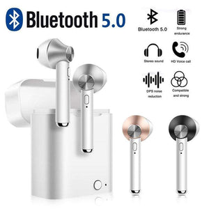 Bluetooth 5.0 Earbuds With Charging Box, LO12 Bluetooth Earbuds - Dgitrends