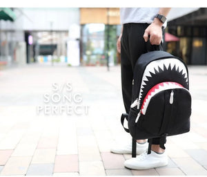 Shark Backpack, Luminous Shark Laptop Backpack - Dgitrends