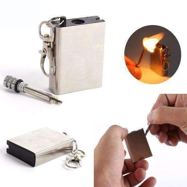 Emergency Match Fire Starter Kit, Match Kit - Dgitrends Watches Gadgets & Accessories