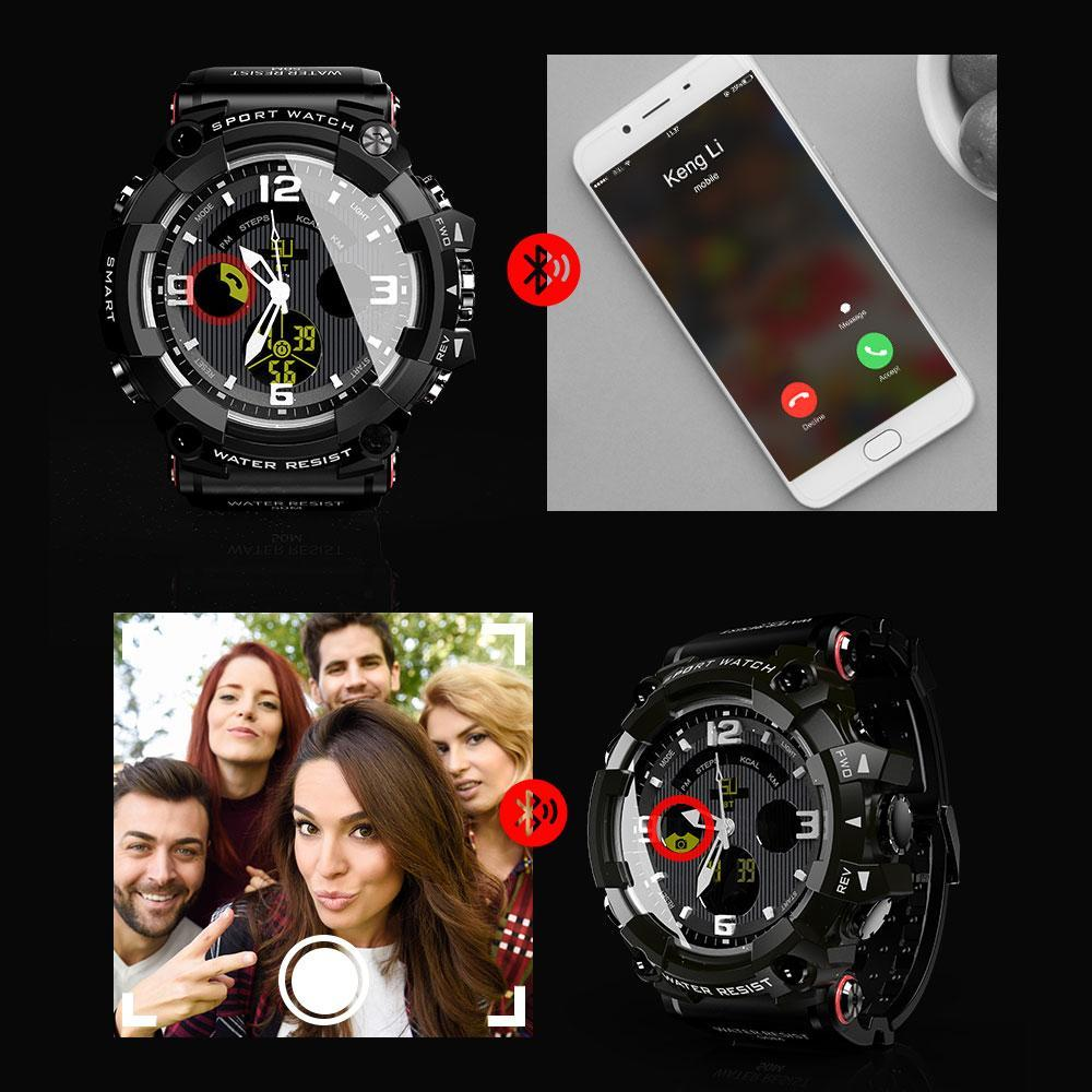 Military Smartwatch For Android & iOS With 1.58 Inch LCD Screen,  - Dgitrends