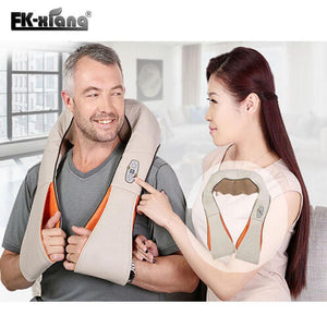 Heated Shiatsu  Massager, Neck Massager > Cervical Spine Massager > Heated Neck Massager > Heated Shiatsu Neck Massager - Dgitrends
