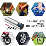 Portable Compressor 12V 150 PSI, Portable Compressor For Cars Bikes Balls And More - Dgitrends