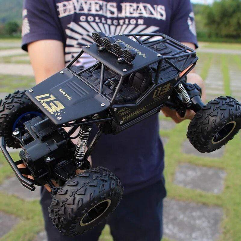 Rock Climber 2.4 GIg Remote 4WD 1:16 RC Off-Road Car, RC Car - Dgitrends