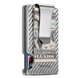 RFID Blocking Anti Scan Money Clip Wallet, RFID Blocking Slim Wallet - Dgitrends