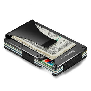 RFID Blocking Anti Scan Money Clip Wallet, RFID Blocking Slim Wallet - Dgitrends Watches Gadgets & Accessories