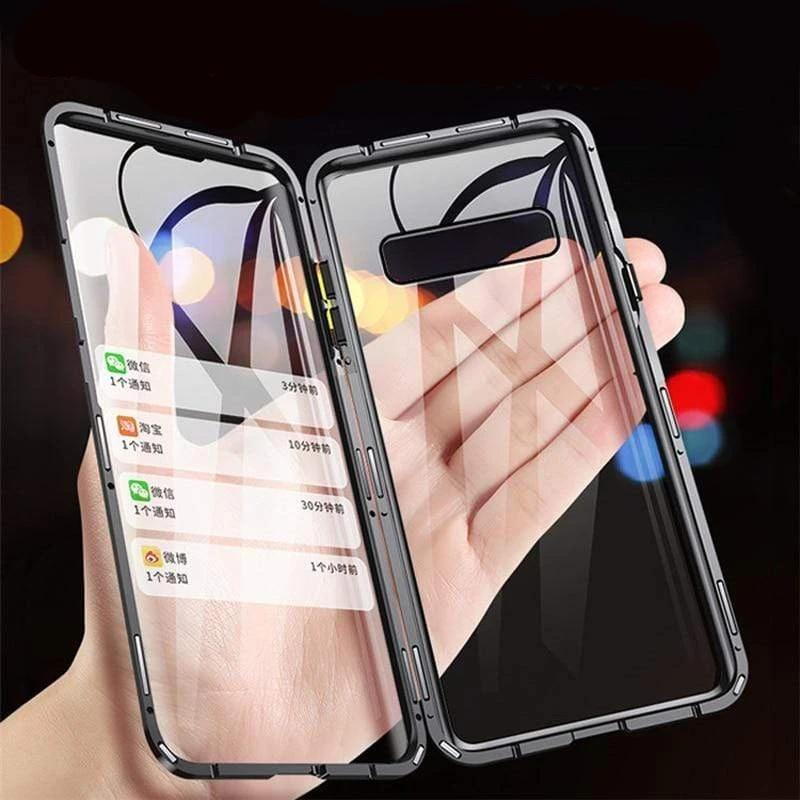 Samsung S10 Double Glass Magnetic Case Magnecase360™- Dgitrends