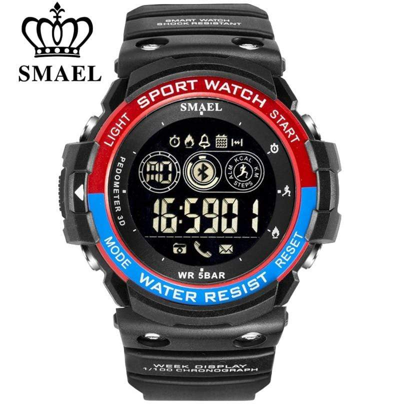Dgitrends SMAEL Sports Mens Watch Multi-Functions Digital Wrist Watches Men Fashion Waterproof Casual Electronic Watches Man Wristwatches