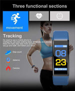 Smartwatch Sport Watch For IOS And Android, Smart Band > Health Monitor > Fitness Band > Fitness Bracelet - Dgitrends