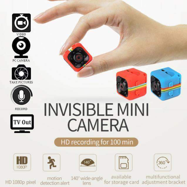 Mini Wi-Fi Security Camera, Wi-Fi Security Camera > Wifi Security Camera > Mini Surveillance Camera > Motion Detection Camera > Night Vision Security Camera - Dgitrends