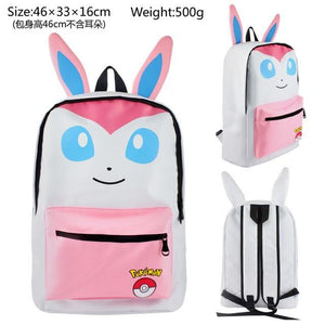 Pokemon Haunter Eevee Bulbasaur Canvas Backpack, Pokemon Canvas Backpack - Dgitrends