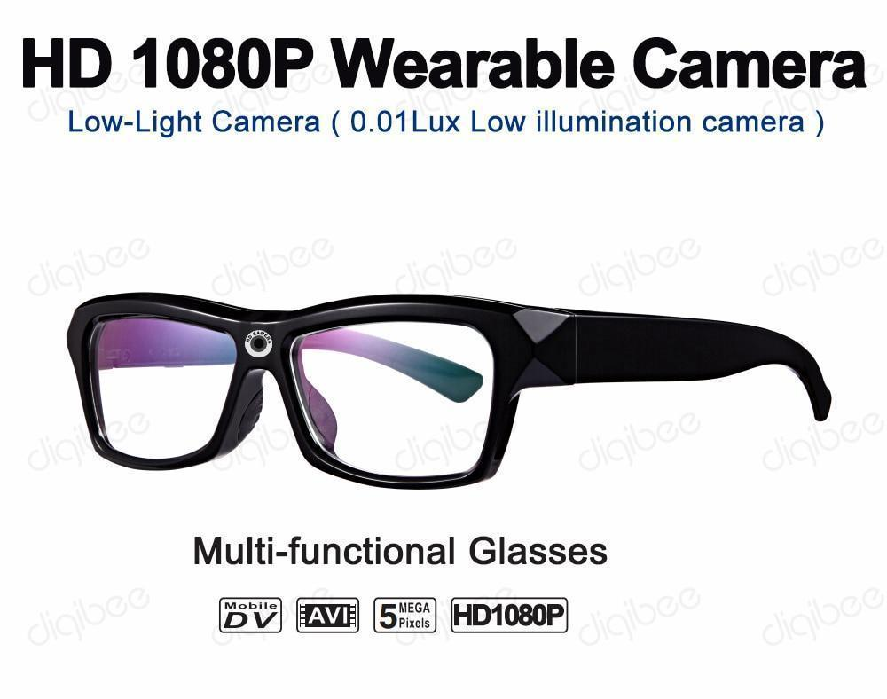 1080P HD Camera Glasses With Indestructible T90 Frame., T90 HD Camera Glasses - Dgitrends
