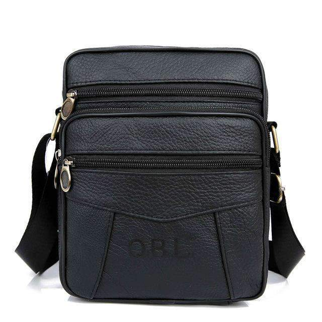 Leather Messenger Bag, Travel Accessory - Dgitrends Watches Gadgets & Accessories