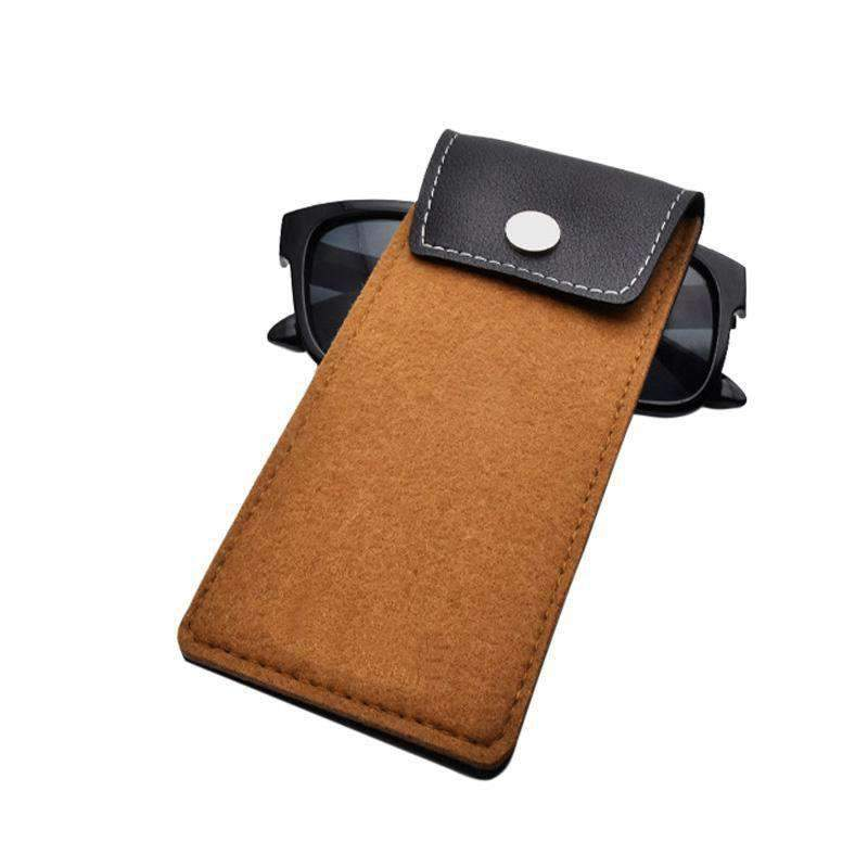 CarBonClean Limited Offer Genuine Hand Cut Cowhide Soft Case, Travel Accessory - Dgitrends