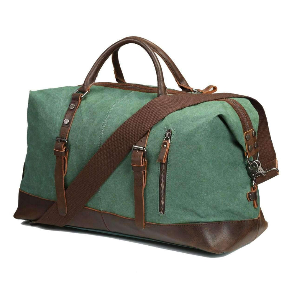 Vintage Travel Duffel Bag, Travel Accessory - Dgitrends