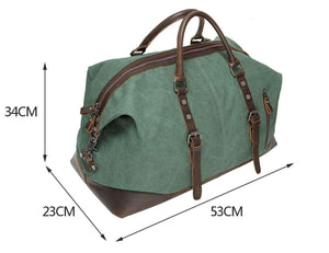 Vintage Travel Duffel Bag, Travel Accessory - Dgitrends Watches Gadgets & Accessories