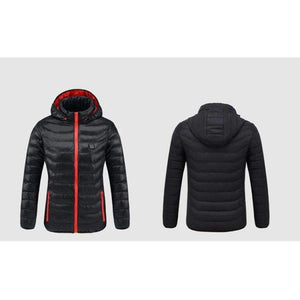 Women's Heated Winter Jacket, USB Heated Jacket - Dgitrends