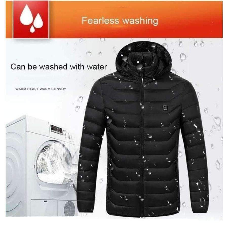 Men's Electric Jacket, USB Heated Jacket - Dgitrends