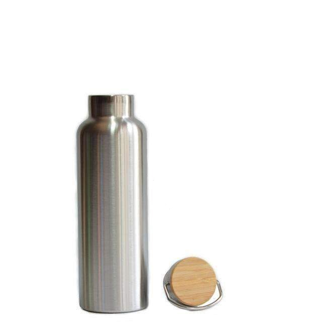 Insulated Mug with Bamboo Cap, Water Bottle - Dgitrends Watches Gadgets & Accessories
