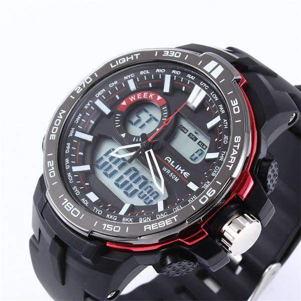 Digital Military Watch With Dual Display, Digital Military Watch - Dgitrends
