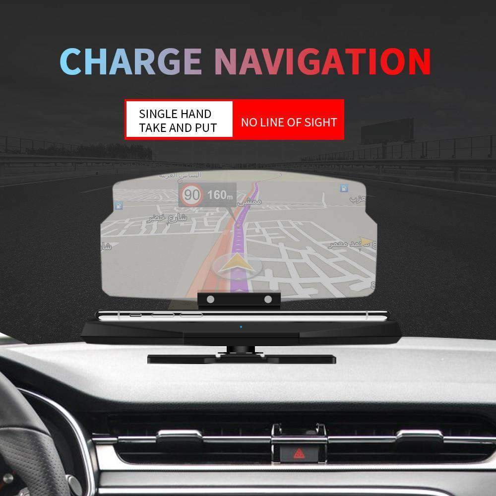 Wireless Charging Dock & Heads up Display Car HUD, Wireless Charging Dock & Heads up Display Car HUD > Doc Heads Up Display > Universal HUD > Car Phone Dock > Car Phone Dock Heads Up Display - Dgitrends Watches Gadgets & Accessories