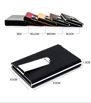 Minimalist Card Holder Money Clip, Minimalist Wallet With Money Clip - Dgitrends Watches Gadgets & Accessories
