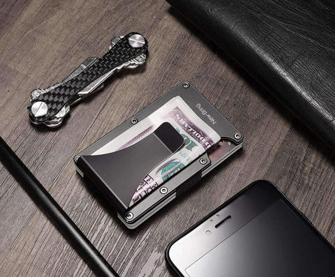 Dgitrends Money Clip Wallet RFID Anti Scan Minimalist Wallet